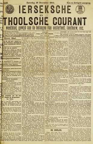 Ierseksche en Thoolsche Courant 1914-12-19