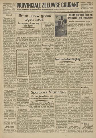 Provinciale Zeeuwse Courant 1949-01-04