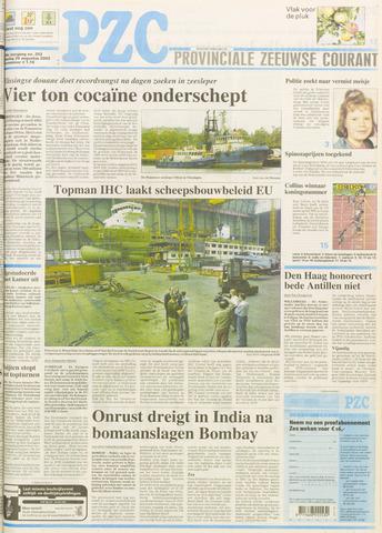 Provinciale Zeeuwse Courant 2003-08-26
