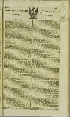Middelburgsche Courant 1825-06-23