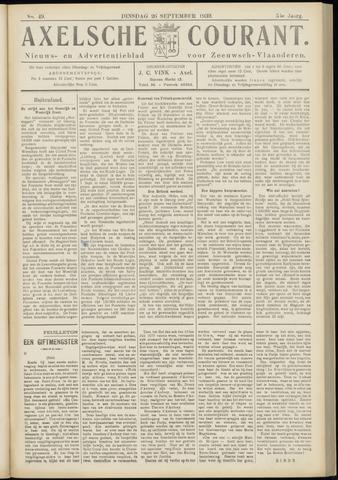 Axelsche Courant 1939-09-26