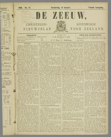 De Zeeuw. Christelijk-historisch nieuwsblad voor Zeeland 1888-01-19