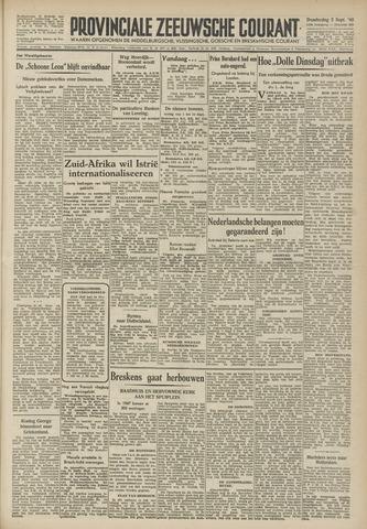 Provinciale Zeeuwse Courant 1946-09-05