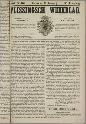Vlissings Weekblad 1871