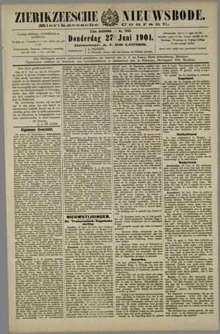 Zierikzeesche Nieuwsbode 1901-06-27