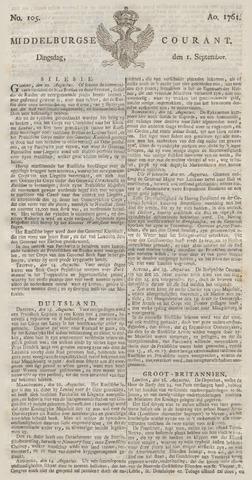 Middelburgsche Courant 1761-09-01