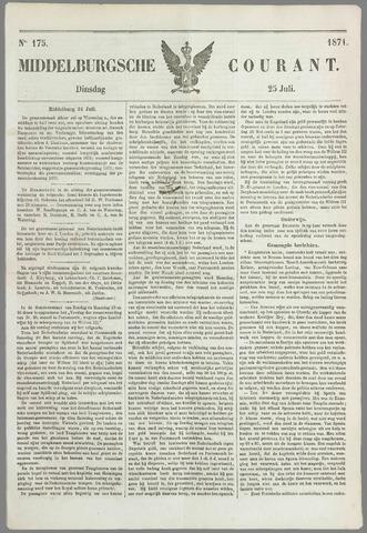 Middelburgsche Courant 1871-07-25