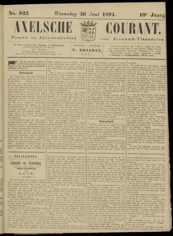 Axelsche Courant 1894-06-20