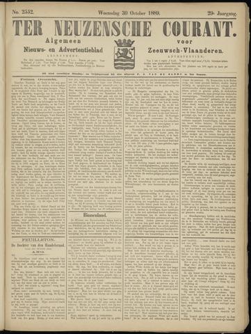 Ter Neuzensche Courant. Algemeen Nieuws- en Advertentieblad voor Zeeuwsch-Vlaanderen / Neuzensche Courant ... (idem) / (Algemeen) nieuws en advertentieblad voor Zeeuwsch-Vlaanderen 1889-10-30