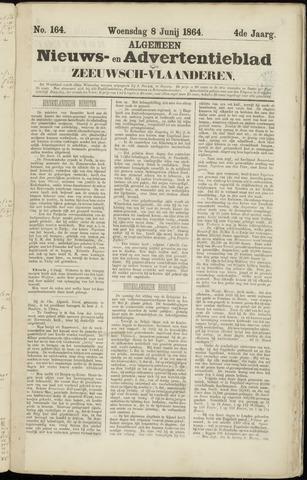 Ter Neuzensche Courant. Algemeen Nieuws- en Advertentieblad voor Zeeuwsch-Vlaanderen / Neuzensche Courant ... (idem) / (Algemeen) nieuws en advertentieblad voor Zeeuwsch-Vlaanderen 1864-06-08