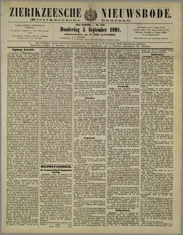 Zierikzeesche Nieuwsbode 1901-09-05