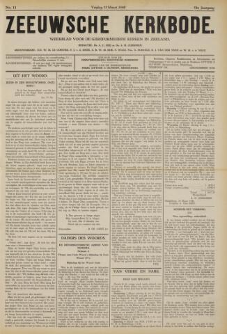 Zeeuwsche kerkbode, weekblad gewijd aan de belangen der gereformeerde kerken/ Zeeuwsch kerkblad 1940-03-15