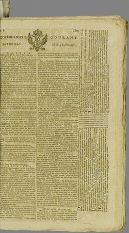 Middelburgsche Courant 1806-01-04