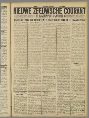Nieuwe Zeeuwsche Courant 1926-01-26