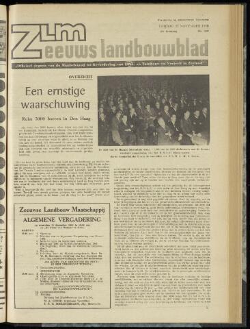 Zeeuwsch landbouwblad ... ZLM land- en tuinbouwblad 1962-11-23
