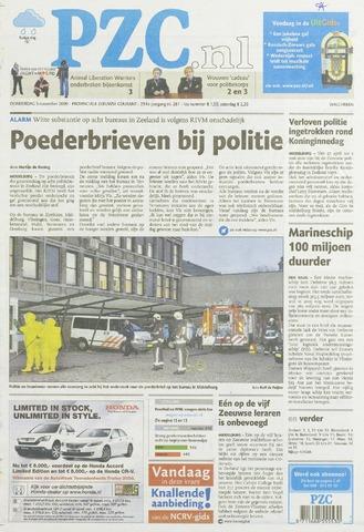 Provinciale Zeeuwse Courant 2009-11-05