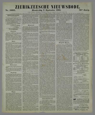 Zierikzeesche Nieuwsbode 1881-09-08