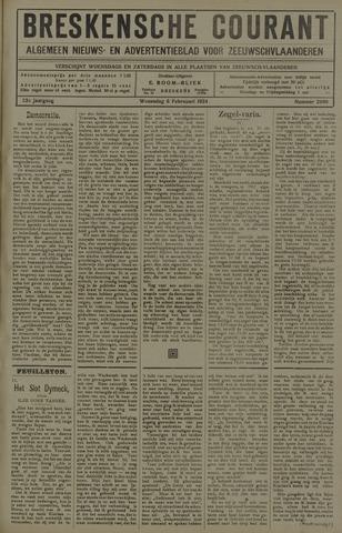 Breskensche Courant 1924-02-06