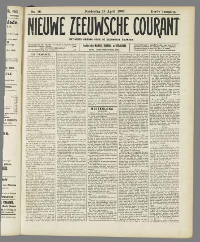 Nieuwe Zeeuwsche Courant 1907-04-18