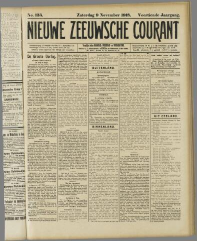 Nieuwe Zeeuwsche Courant 1918-11-09