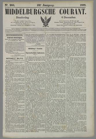 Middelburgsche Courant 1888-12-06