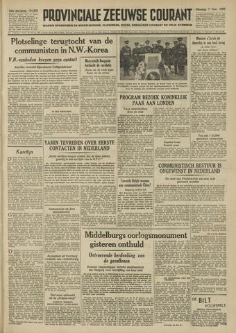 Provinciale Zeeuwse Courant 1950-11-07