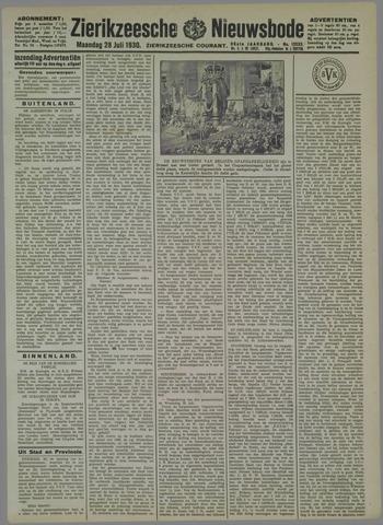 Zierikzeesche Nieuwsbode 1930-07-28