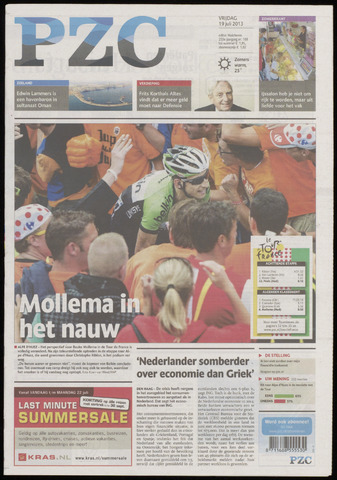 Provinciale Zeeuwse Courant 2013-07-19