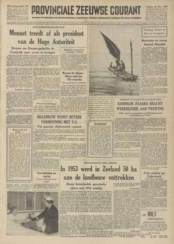 Provinciale Zeeuwse Courant 1954-11-12