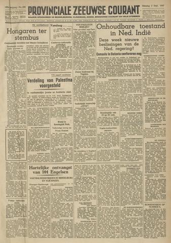 Provinciale Zeeuwse Courant 1947-09-02