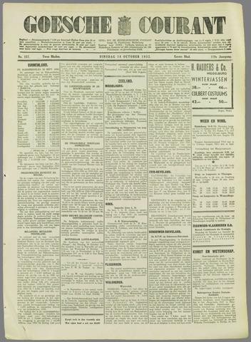Goessche Courant 1932-10-18