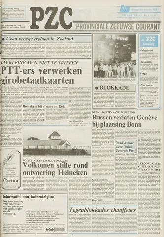 Provinciale Zeeuwse Courant 1983-11-11