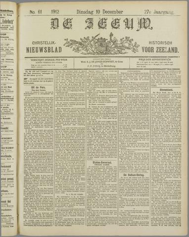 De Zeeuw. Christelijk-historisch nieuwsblad voor Zeeland 1912-12-10