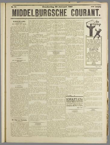 Middelburgsche Courant 1927-01-20