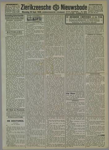 Zierikzeesche Nieuwsbode 1930-09-29