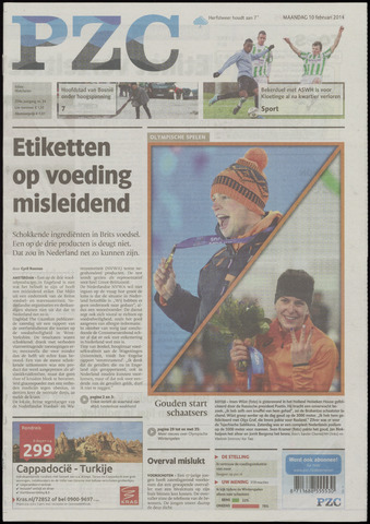 Provinciale Zeeuwse Courant 2014-02-10