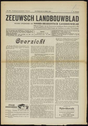 Zeeuwsch landbouwblad ... ZLM land- en tuinbouwblad 1953-04-25