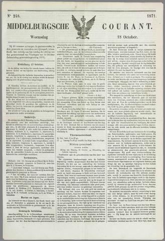 Middelburgsche Courant 1871-10-18
