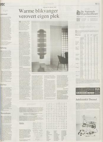 Abn Amro Zitzak.Provinciale Zeeuwse Courant 26 Oktober 2002 Pagina 41