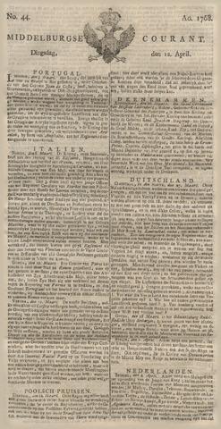 Middelburgsche Courant 1768-04-12