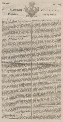 Middelburgsche Courant 1771-10-24