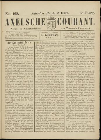 Axelsche Courant 1887-04-23