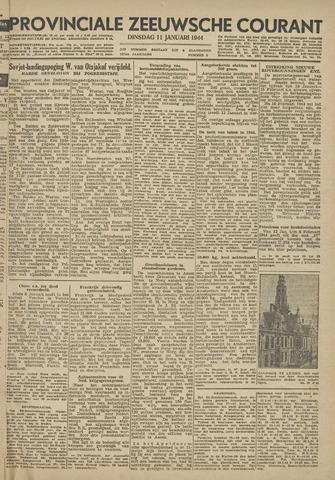 Provinciale Zeeuwse Courant 1944-01-11