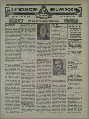 Zierikzeesche Nieuwsbode 1940-10-04
