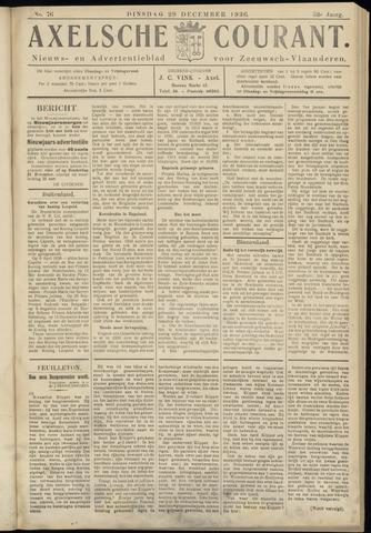 Axelsche Courant 1936-12-29