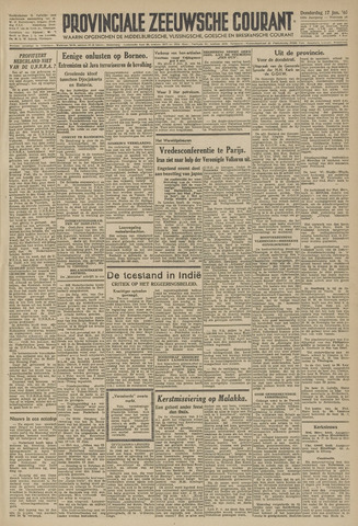 Provinciale Zeeuwse Courant 1946-01-17