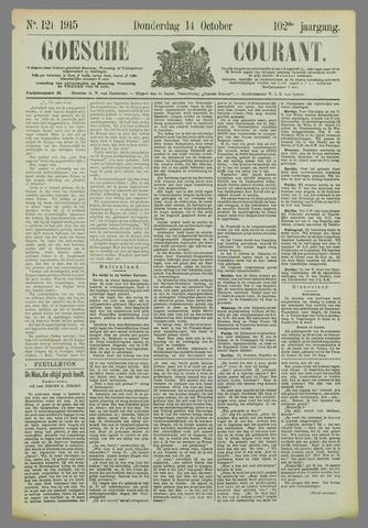 Goessche Courant 1915-10-14