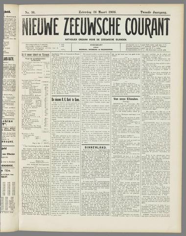 Nieuwe Zeeuwsche Courant 1906-03-24
