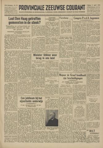Provinciale Zeeuwse Courant 1949-04-08