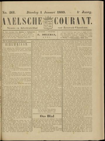 Axelsche Courant 1889